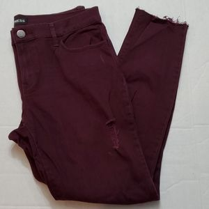 Express Jeans Ankle Legging Mid Rise Size 8